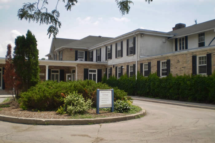 Former Westminster College location, a photo.